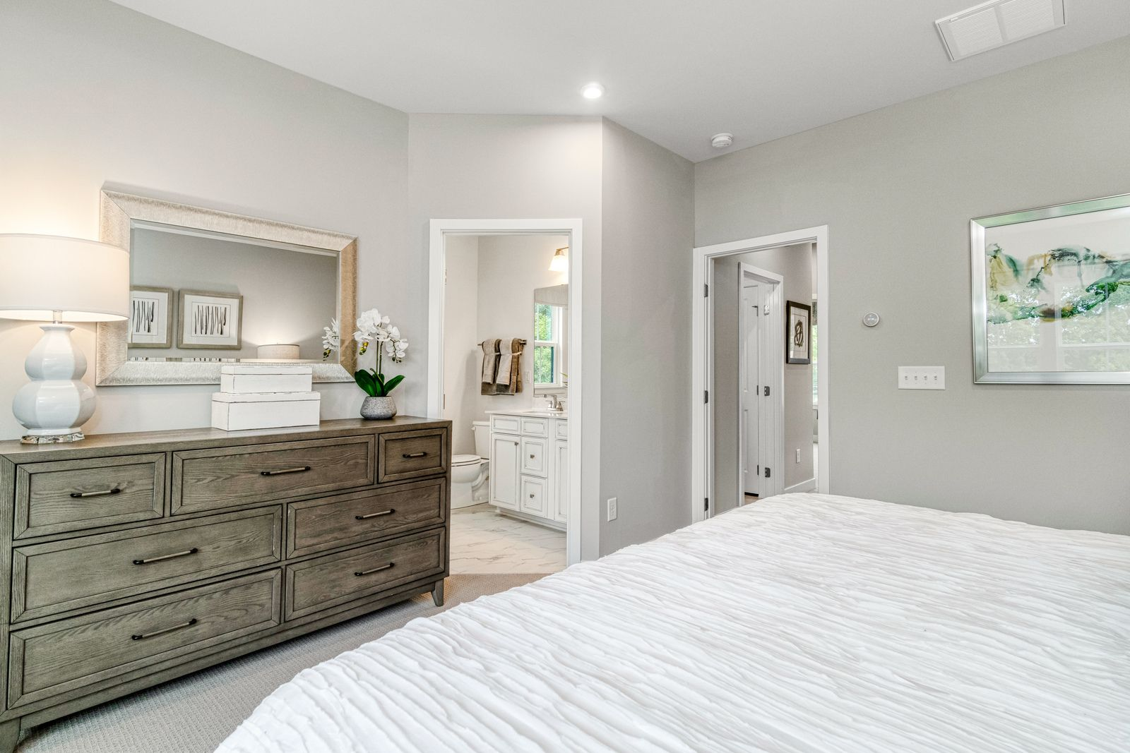 Bedroom featured in the Mozart 2-car garage By Ryan Homes in Richmond-Petersburg, VA