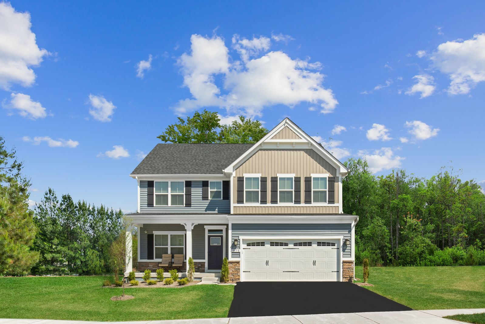 Exterior featured in the Hudson By Ryan Homes in Baltimore, MD