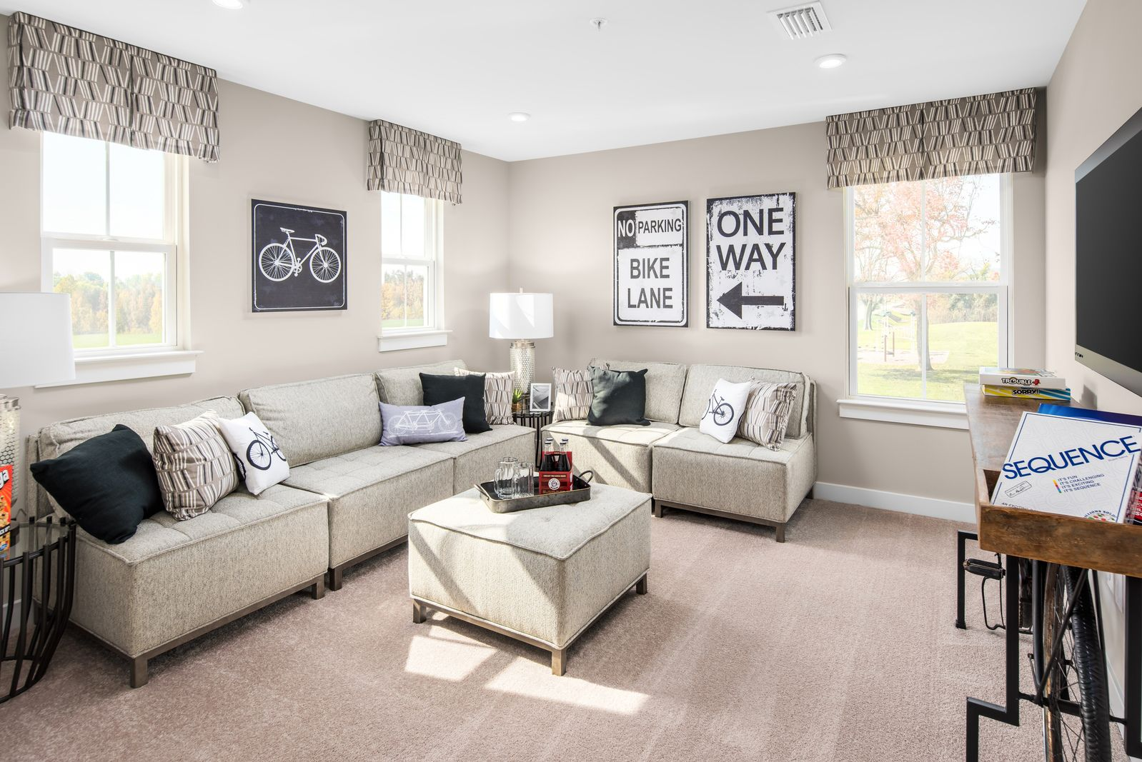 Living Area featured in the Lehigh By Ryan Homes in Pittsburgh, PA