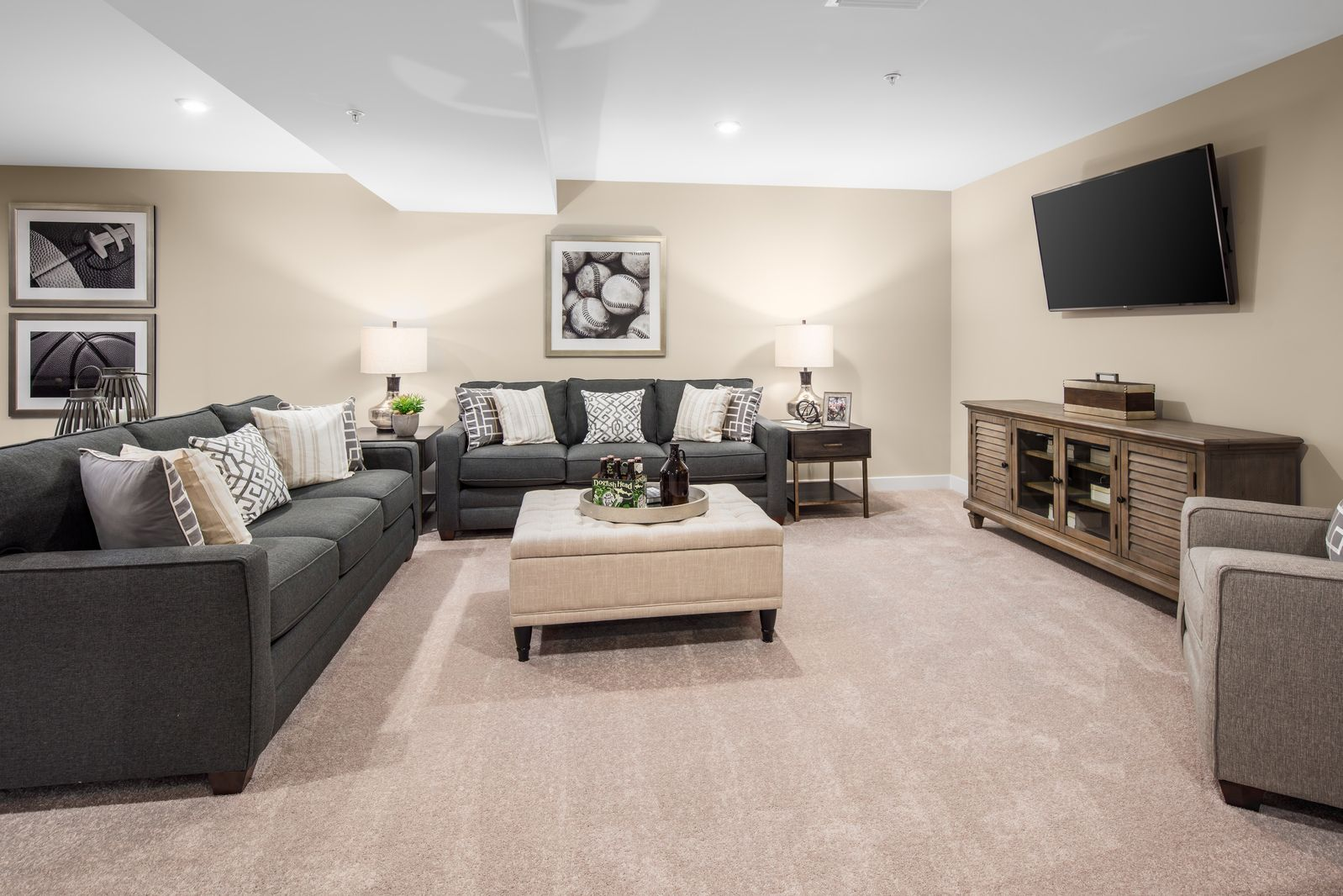 Living Area featured in the Lehigh By Ryan Homes in York, PA