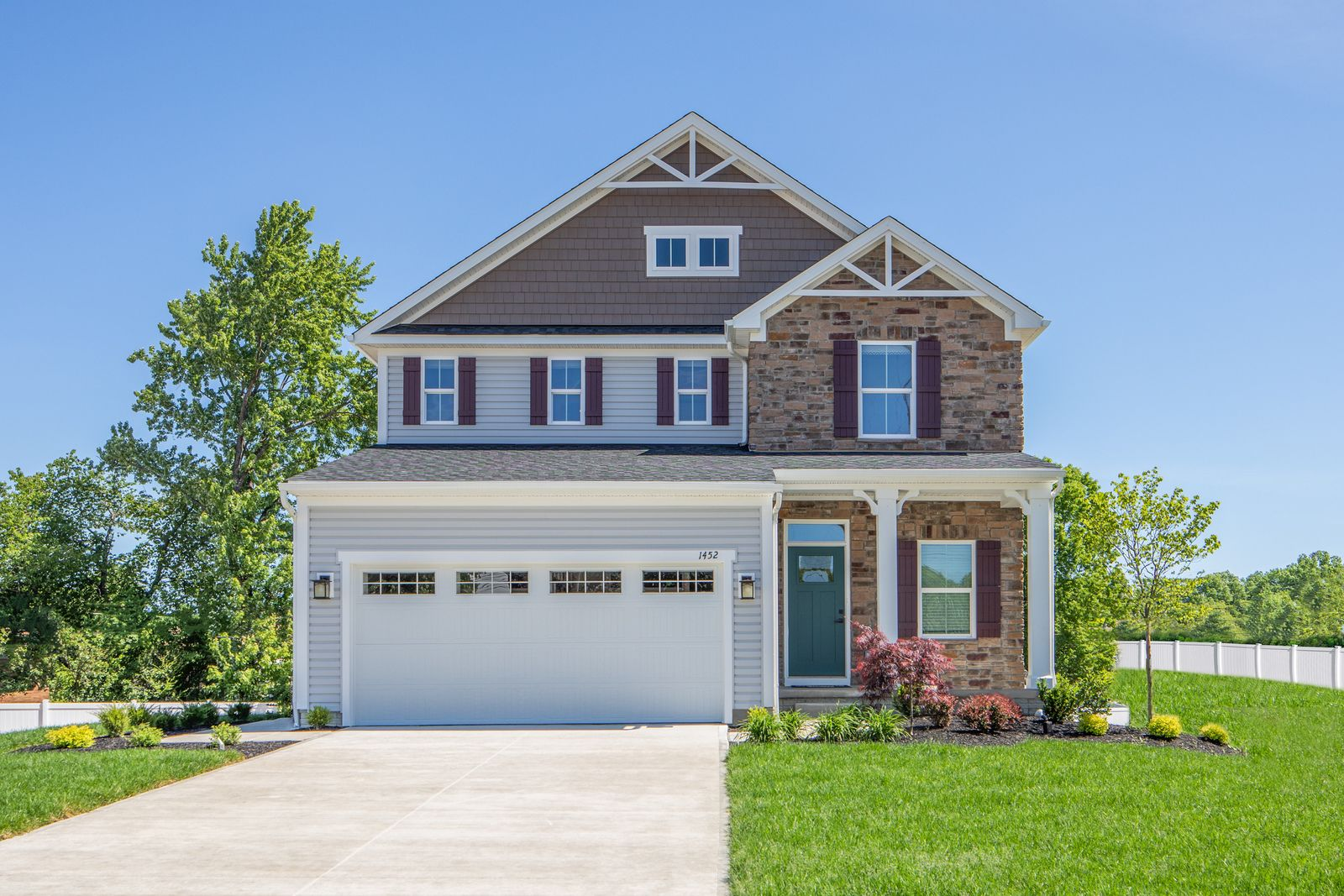 Exterior featured in the Allegheny By Ryan Homes in Dayton-Springfield, OH