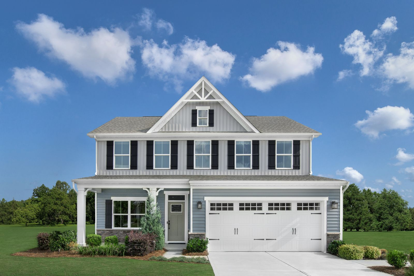 Exterior featured in the Columbia By Ryan Homes in Charlotte, NC