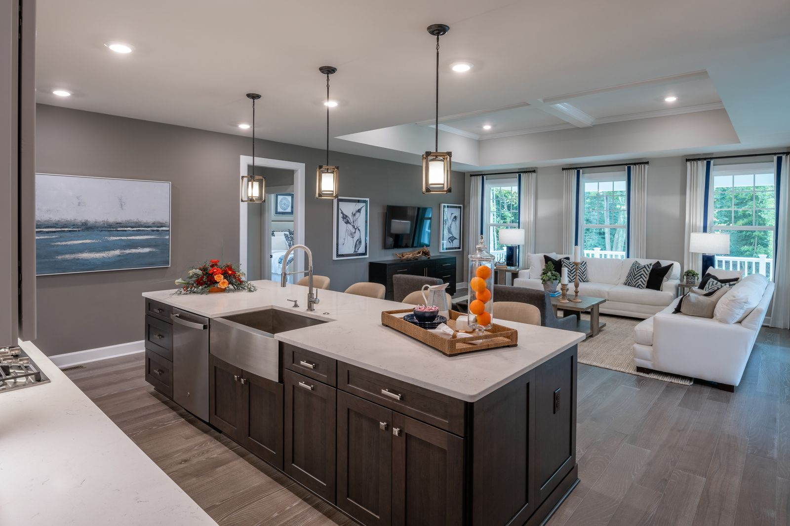 Living Area featured in the Fairhaven By NVHomes in Sussex, DE