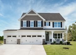 Hudson w Full Basement - Turnberry: Fishers, Indiana - Ryan Homes