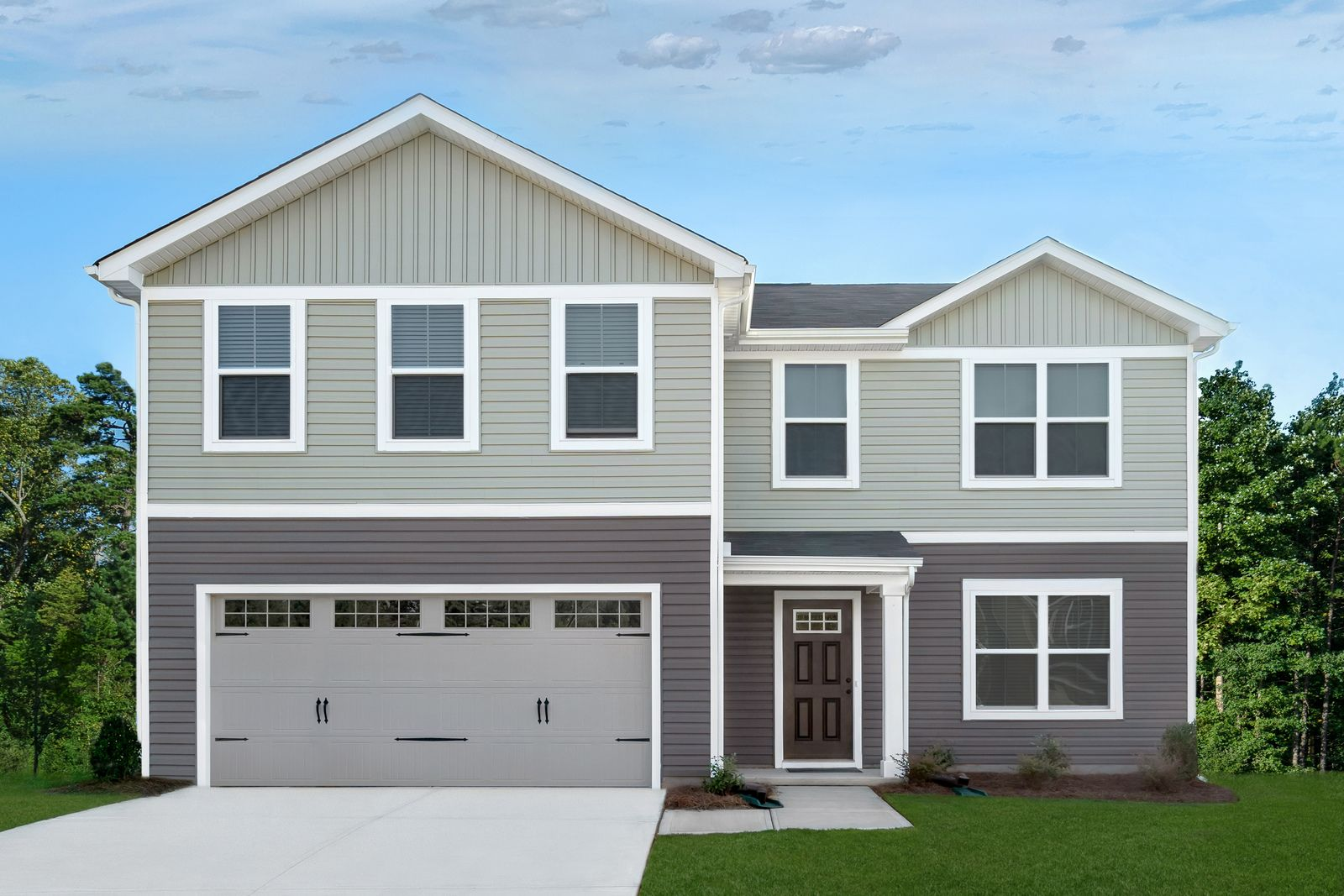 Exterior featured in the Elm By Ryan Homes in Charlotte, NC
