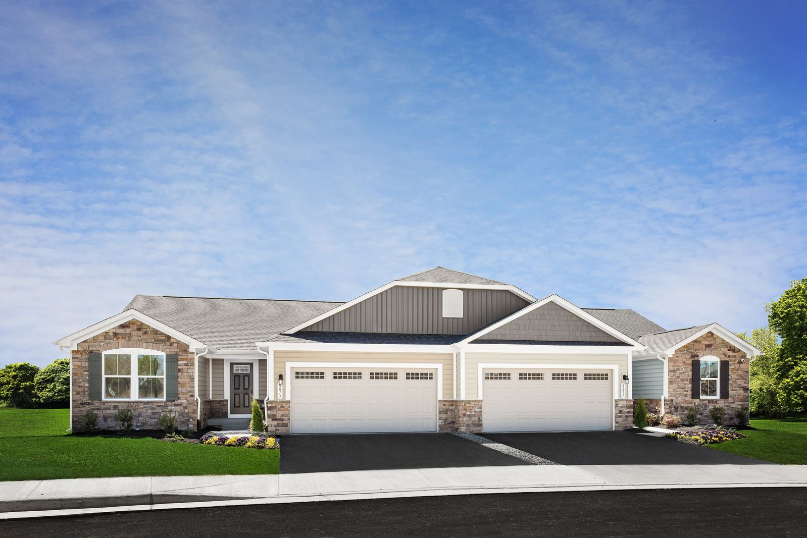 Exterior featured in the Barbados Isle By Ryan Homes in Harrisonburg, VA