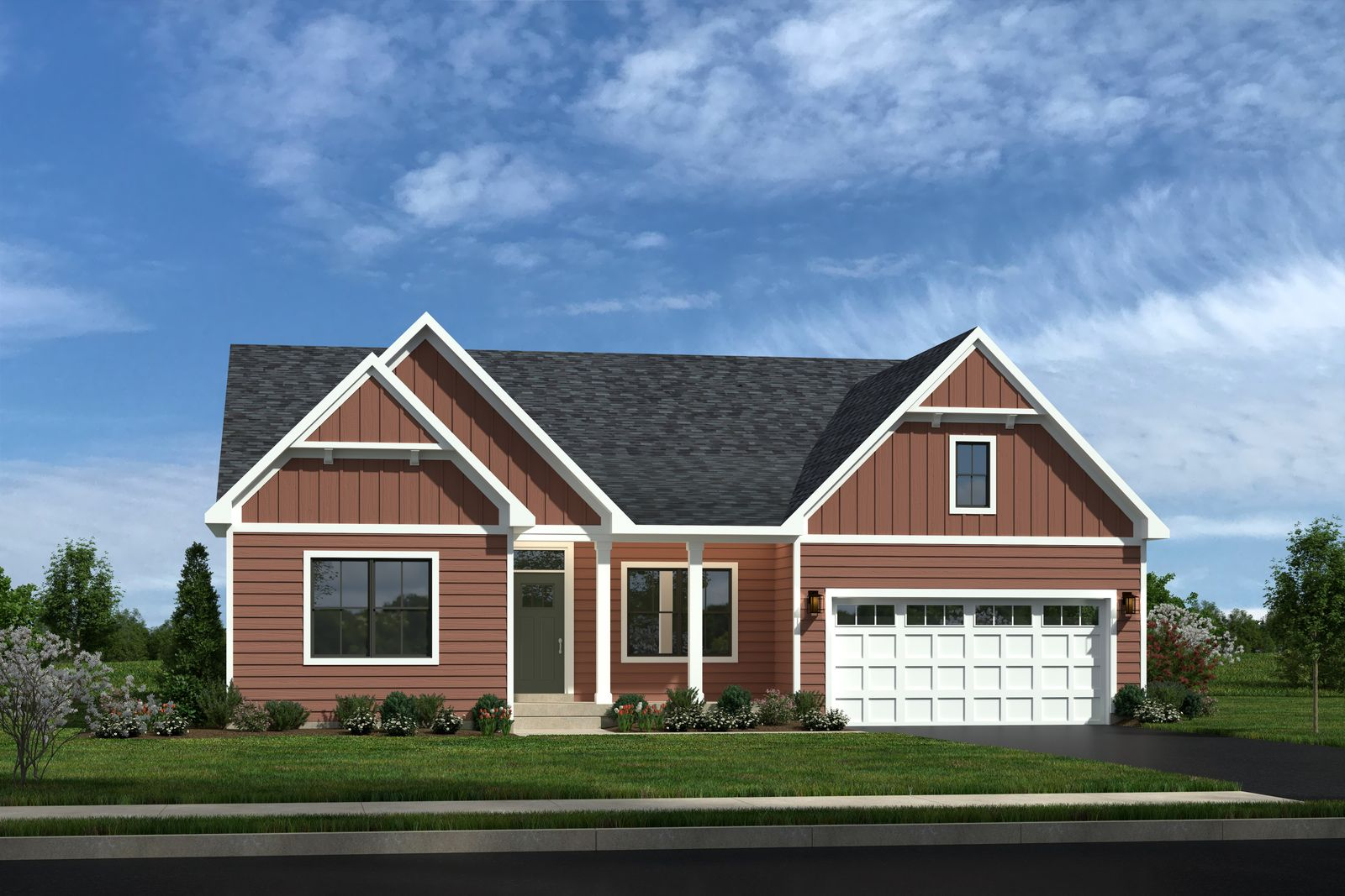 Exterior featured in the Savannah By Ryan Homes in Sussex, DE
