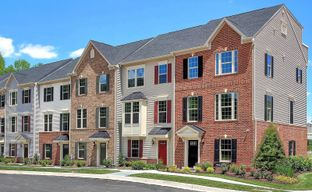Arcola Town Center Townhomes by Ryan Homes in Washington Virginia