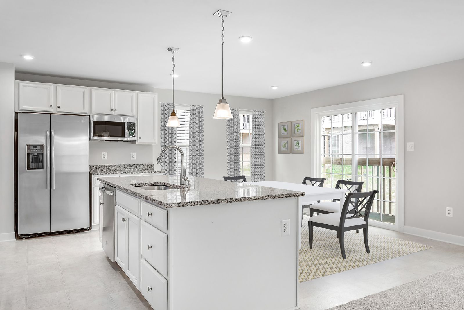 Kitchen featured in the Adrian w/ Finished Basement By Ryan Homes in Dayton-Springfield, OH