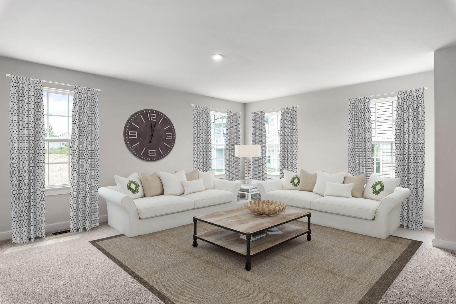 Living Area featured in the Adrian w/ Finished Lower Level By Ryan Homes in Dayton-Springfield, OH
