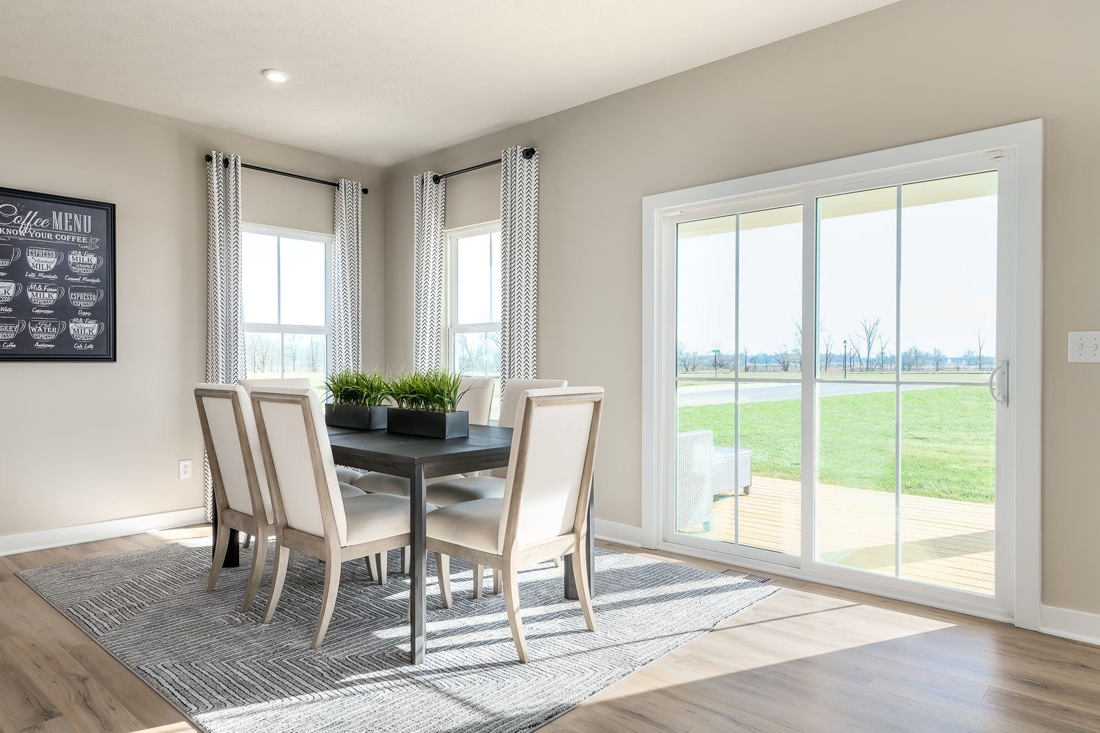 Living Area featured in the Hudson By Ryan Homes in Rochester, NY