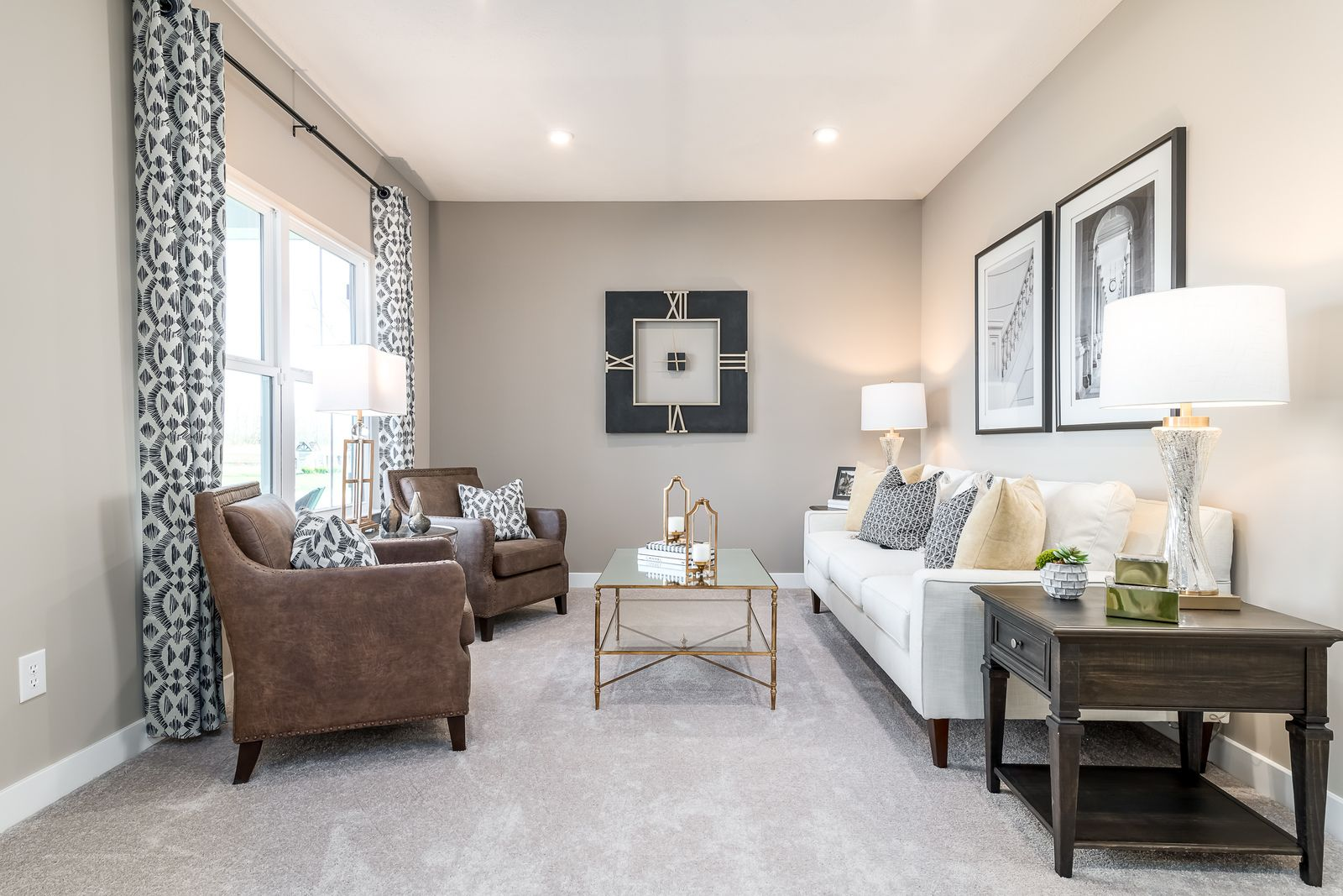 Living Area featured in the Hudson By Ryan Homes in Pittsburgh, PA