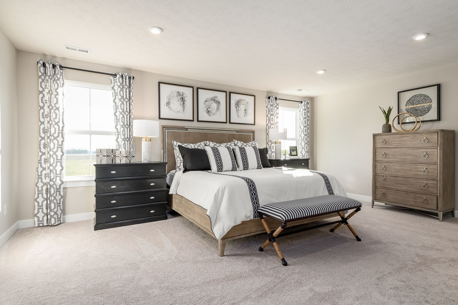Bedroom featured in the Hudson 3 Car Garage By Ryan Homes in Baltimore, MD