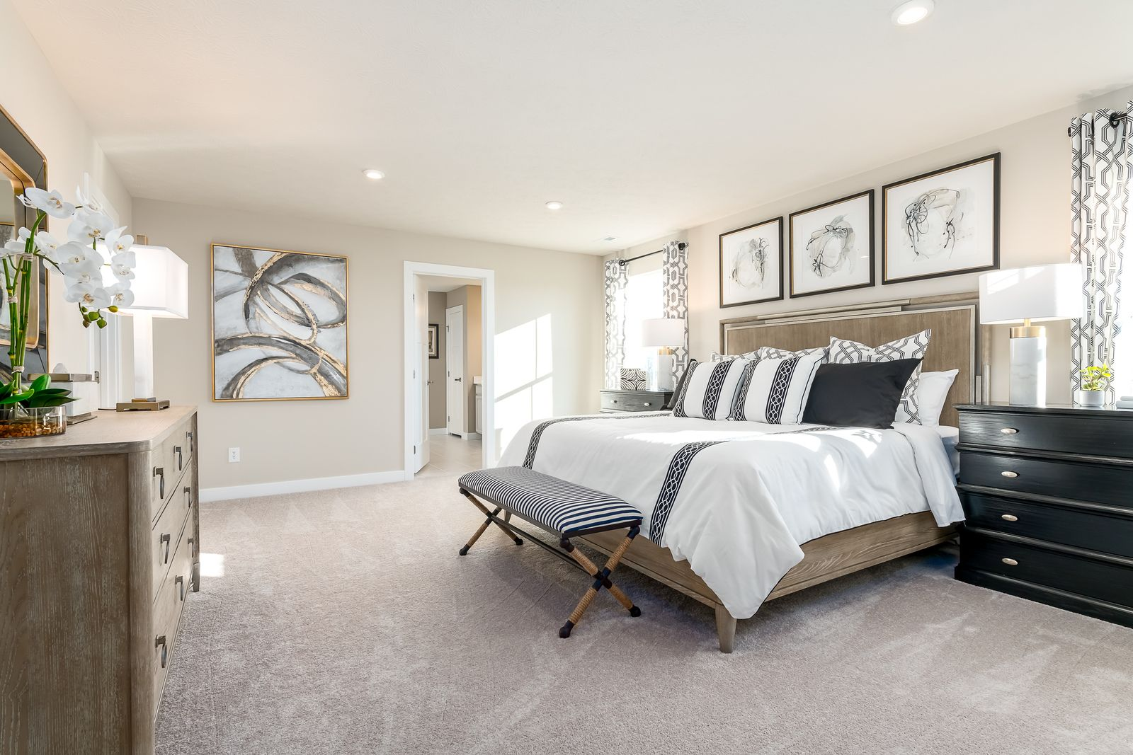 Bedroom featured in the Hudson By Ryan Homes in Charlotte, NC