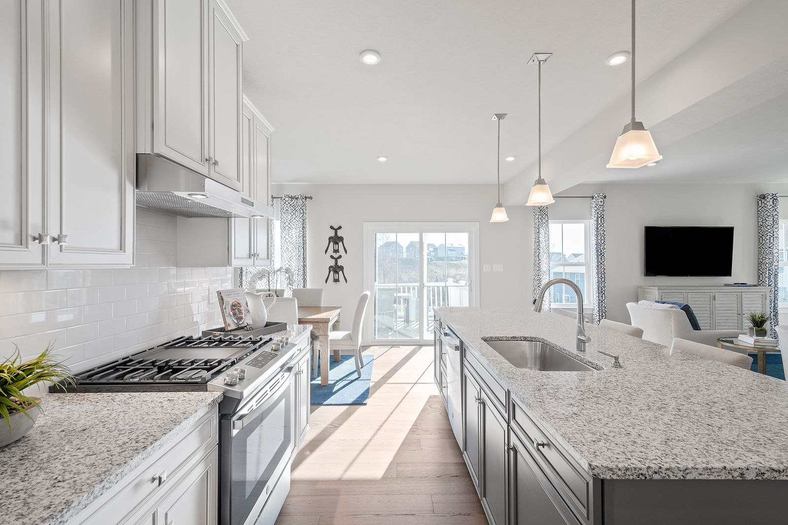Kitchen featured in the Columbia By Ryan Homes in Charlotte, NC