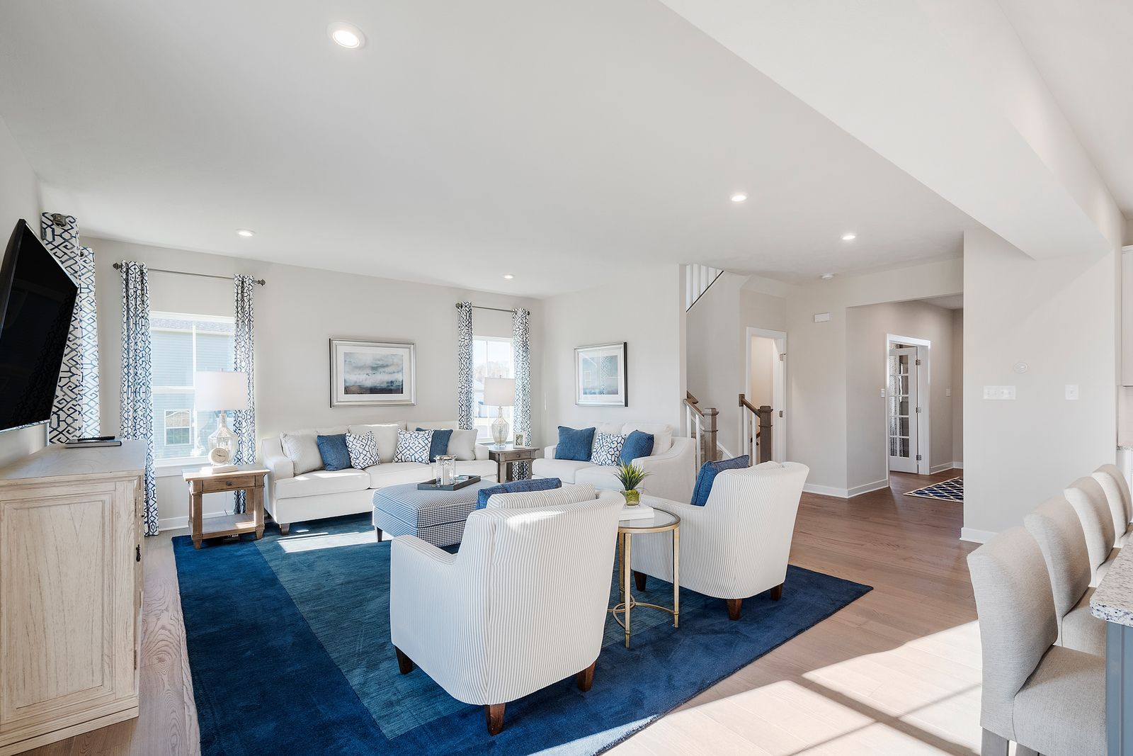 Living Area featured in the Columbia By Ryan Homes in York, PA