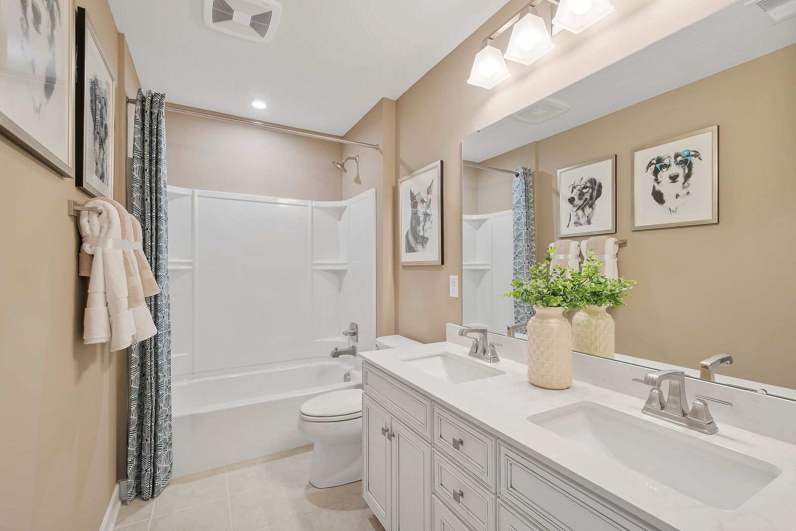 Bathroom featured in the Columbia By Ryan Homes in Charlotte, NC
