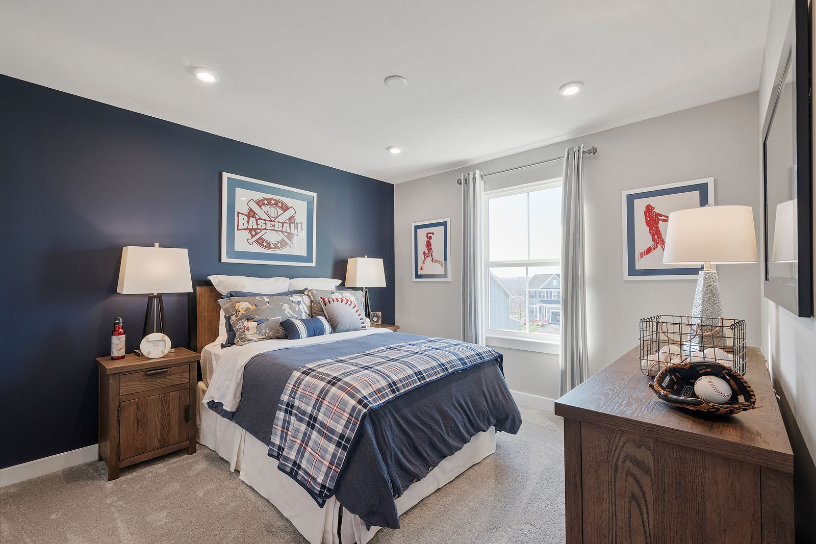 Bedroom featured in the Columbia By Ryan Homes in Dayton-Springfield, OH