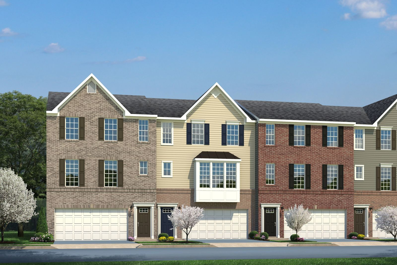 'Towns at Steels Corners' by Ryan Homes-CLE in Akron