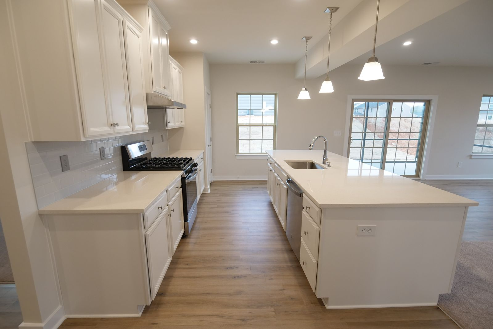 Kitchen featured in the Hudson By Ryan Homes in Greenville-Spartanburg, SC