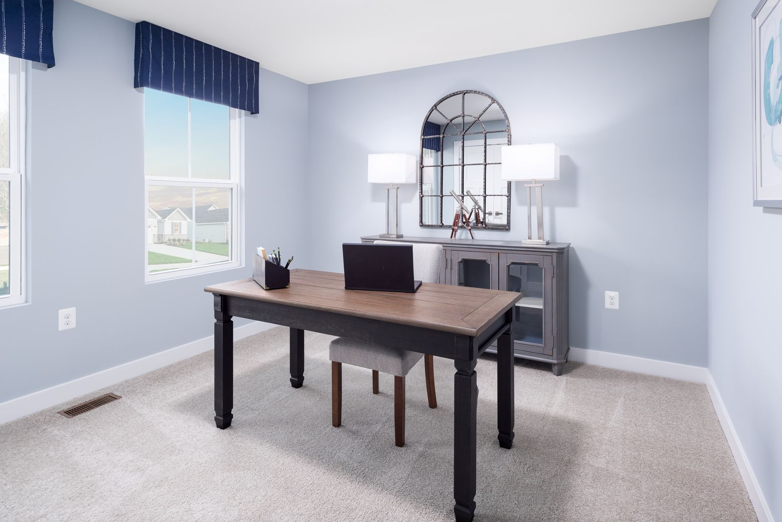 Living Area featured in the Grand Cayman By Ryan Homes in Akron, OH