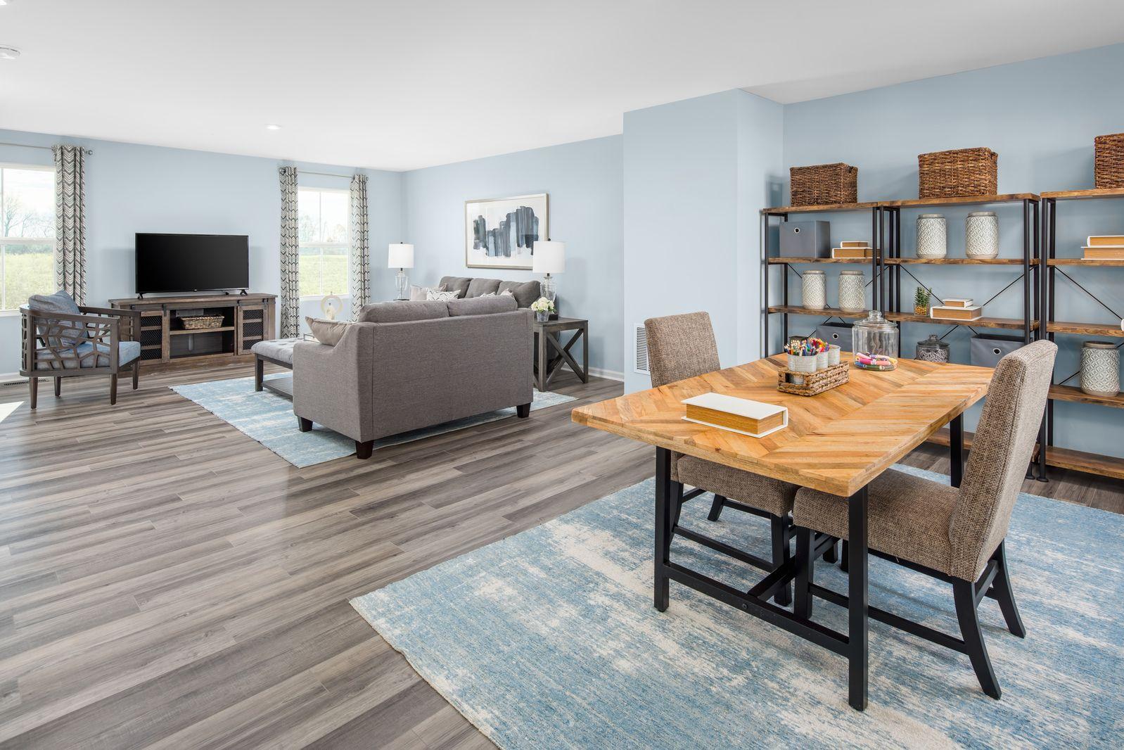 Living Area featured in the Elm By Ryan Homes in Cincinnati, OH