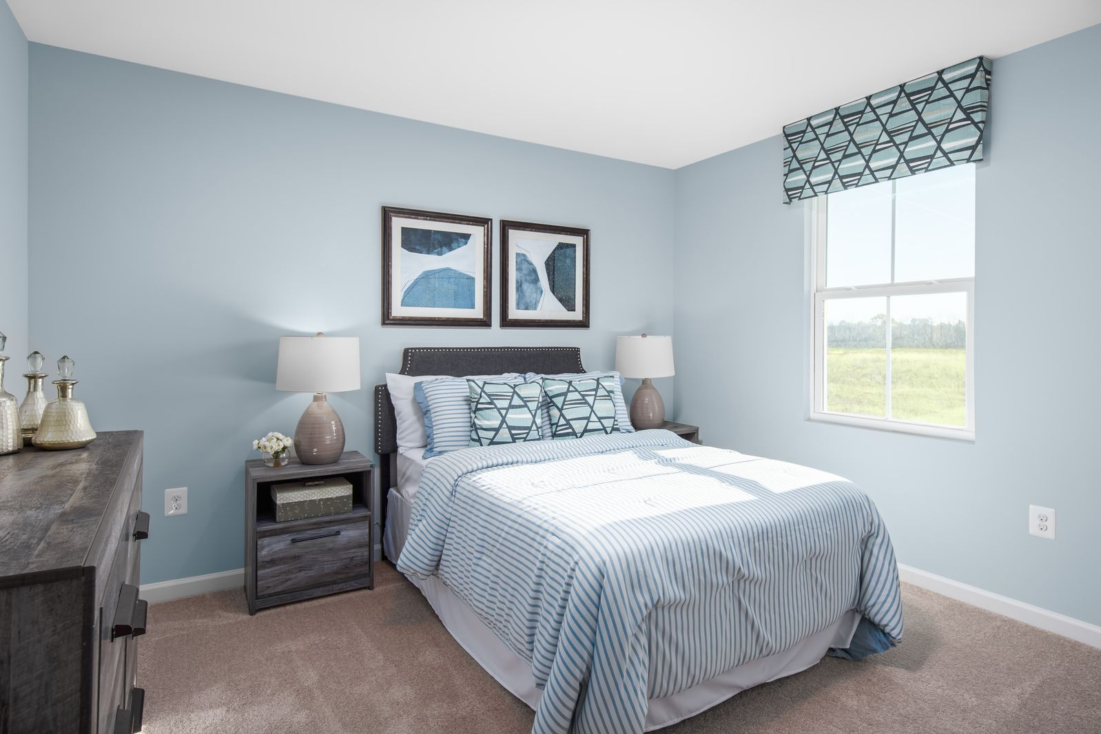 Bedroom featured in the Elm By Ryan Homes in Richmond-Petersburg, VA
