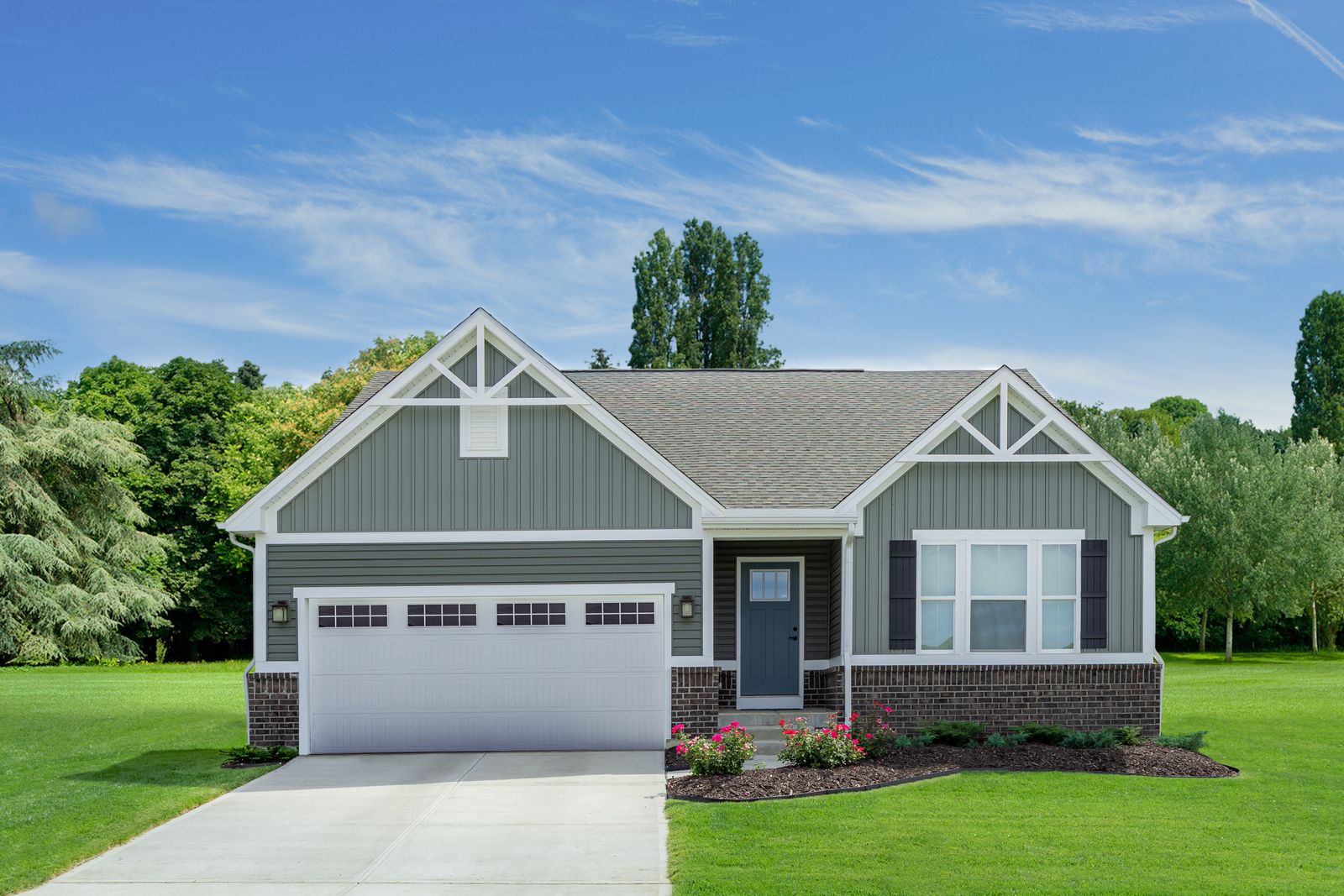 Exterior featured in the Pisa Torre By Ryan Homes in Dayton-Springfield, OH