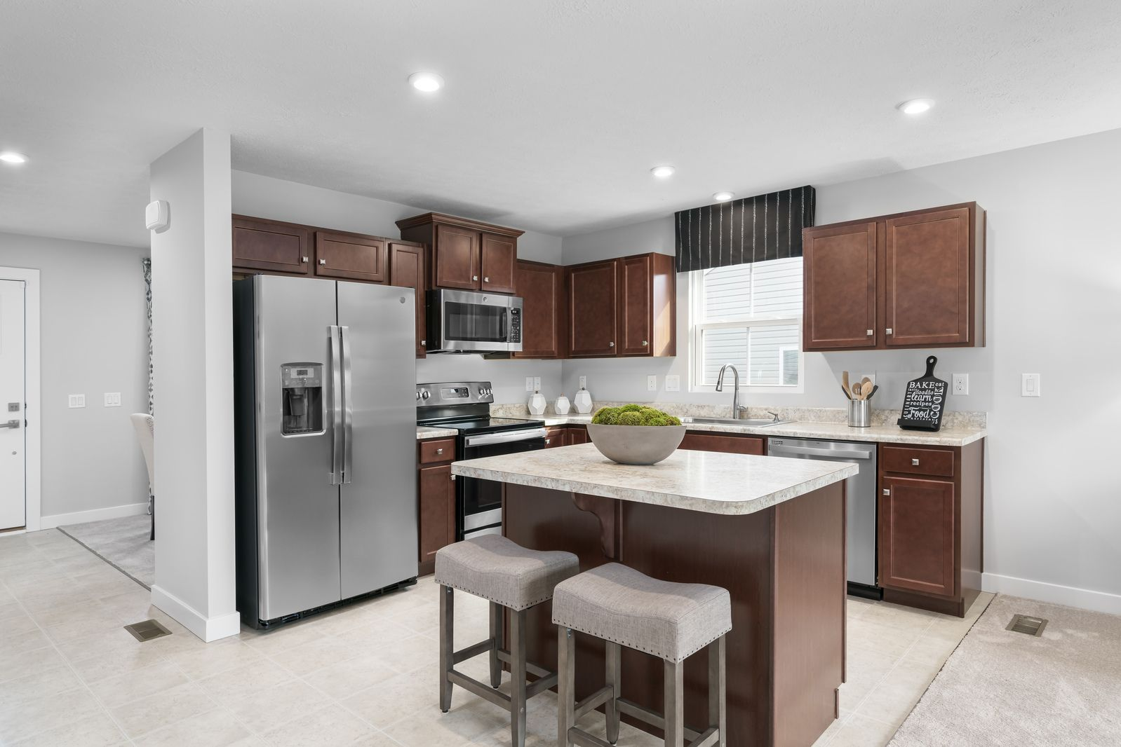 Kitchen featured in the Aruba Bay By Ryan Homes in Akron, OH