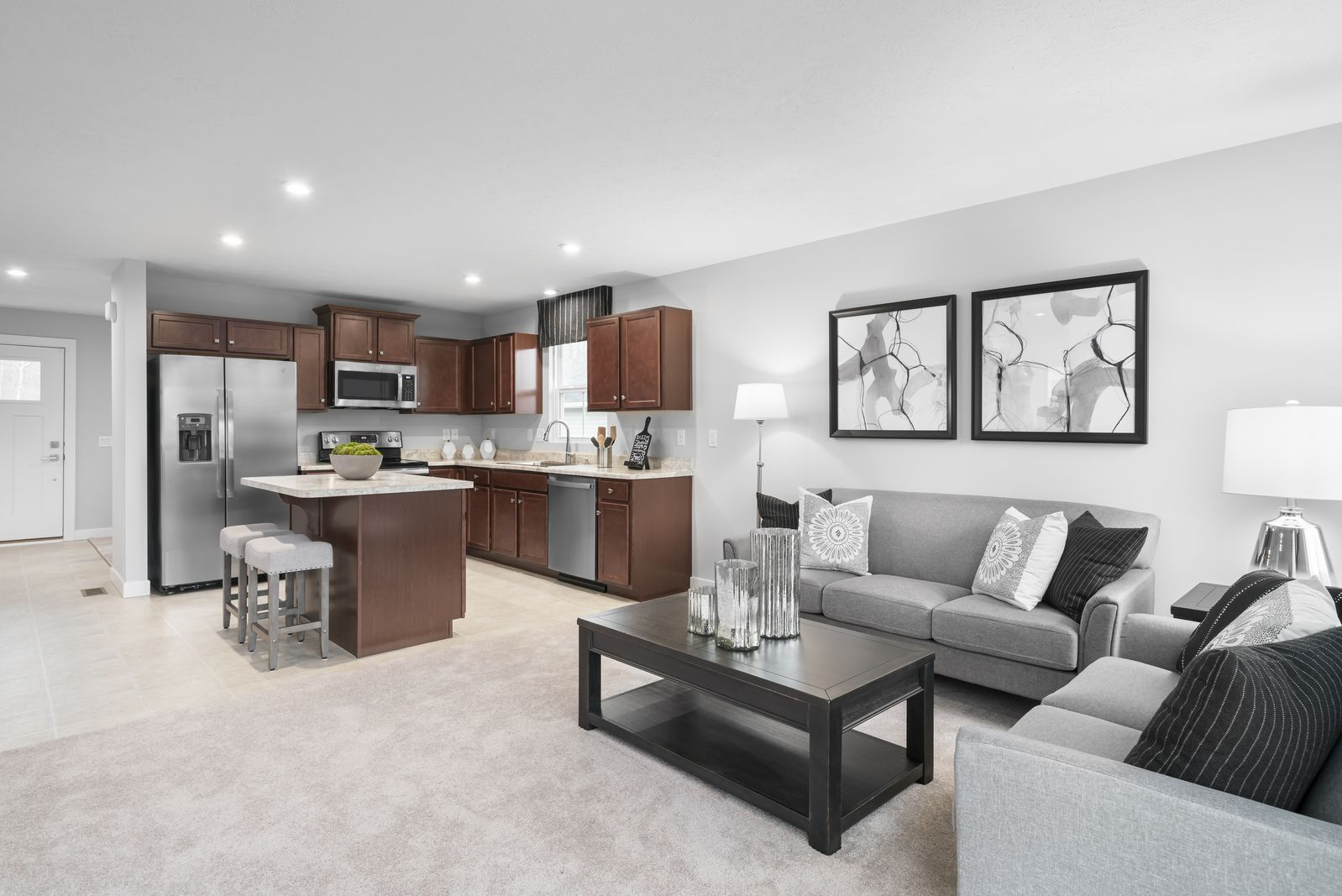 Living Area featured in the Aruba Bay By Ryan Homes in Norfolk-Newport News, VA