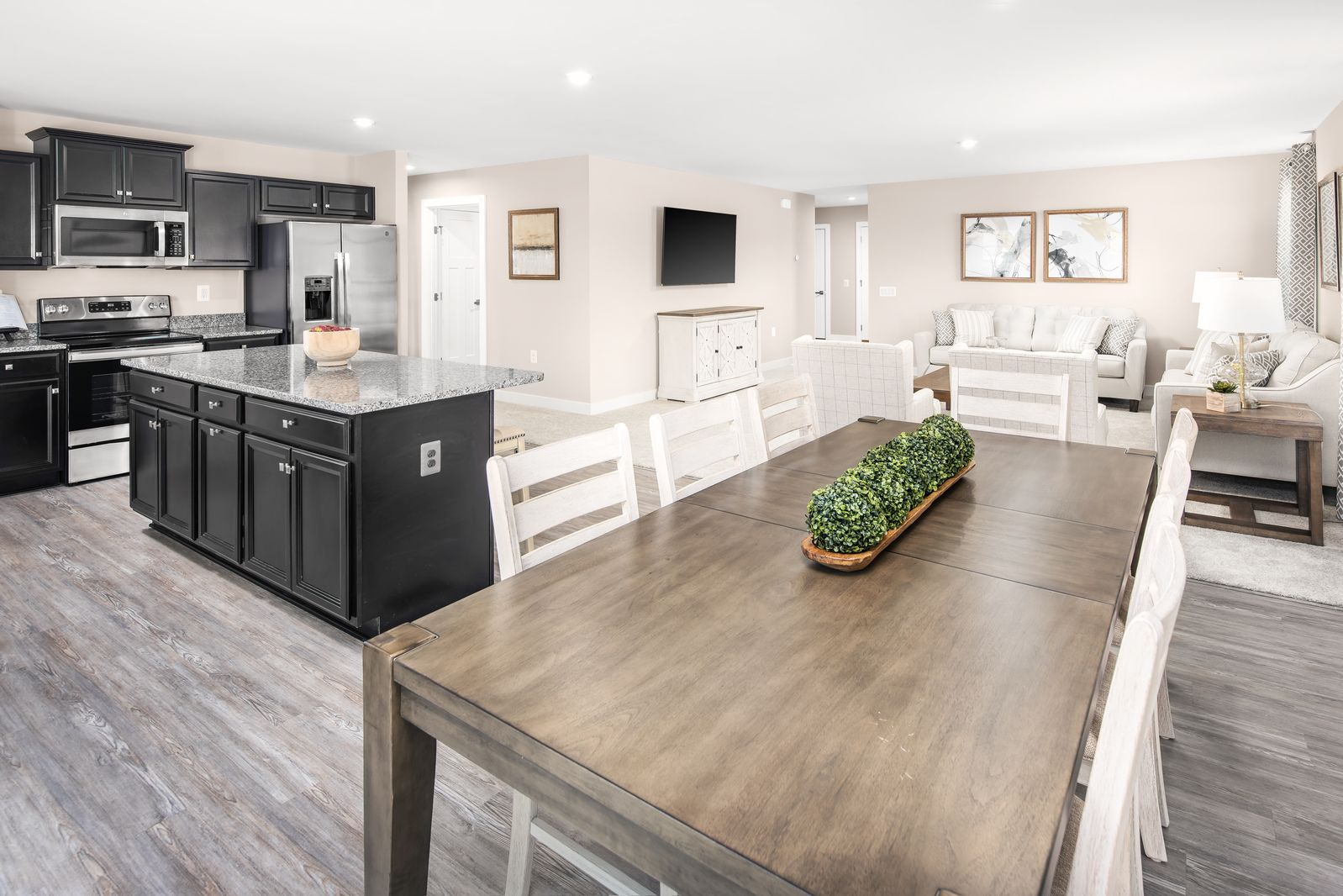Living Area featured in the Eden Cay By Ryan Homes in Akron, OH