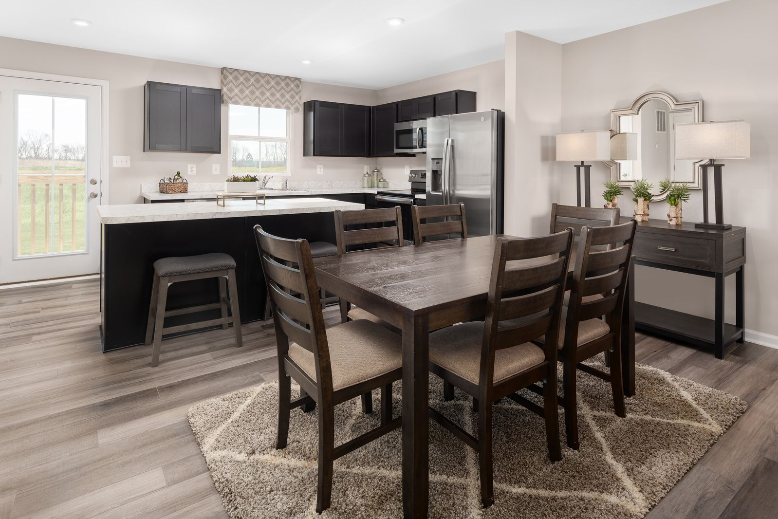 Kitchen featured in the Birch By Ryan Homes in Columbus, OH