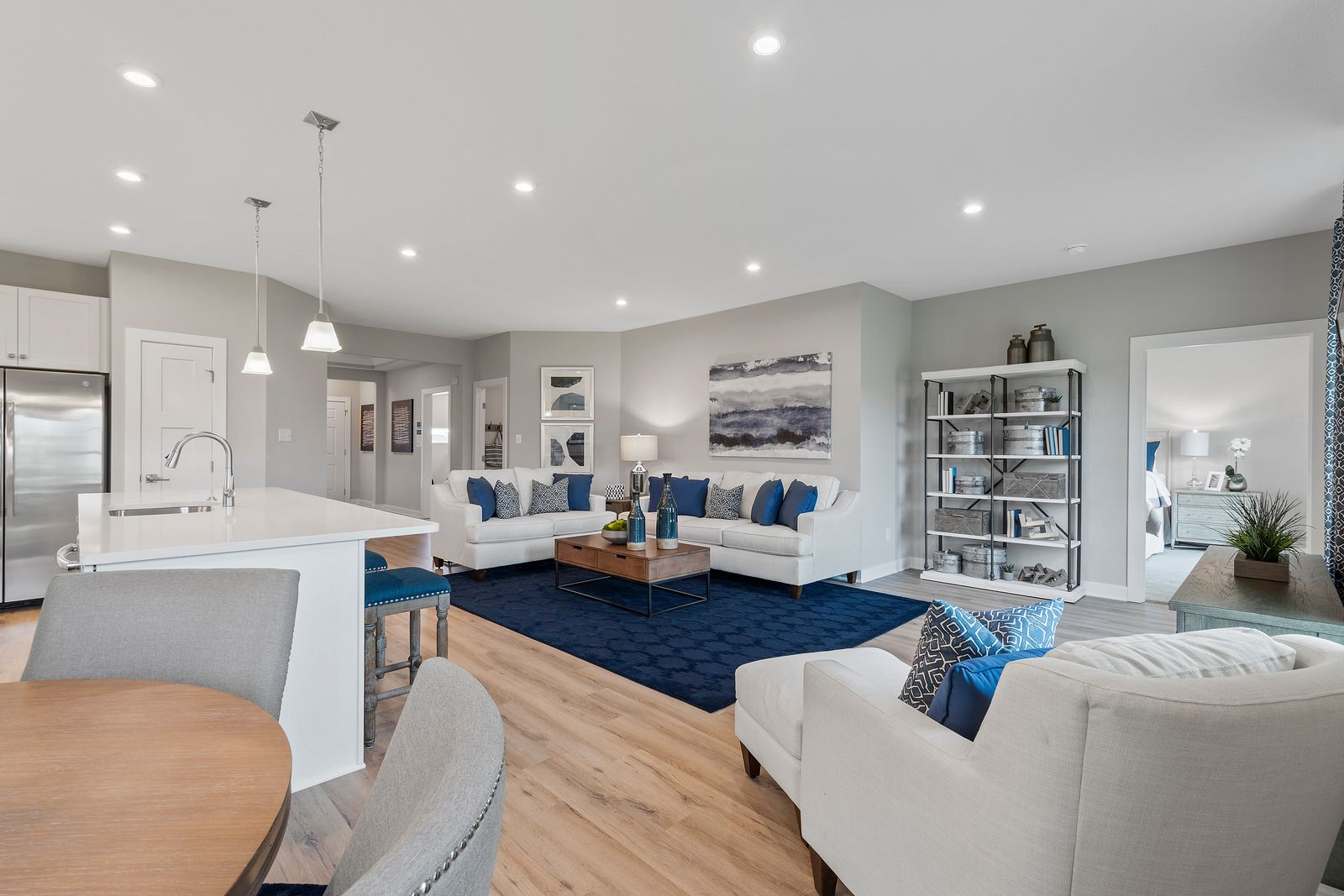Living Area featured in the Newbury By Ryan Homes in Pittsburgh, PA