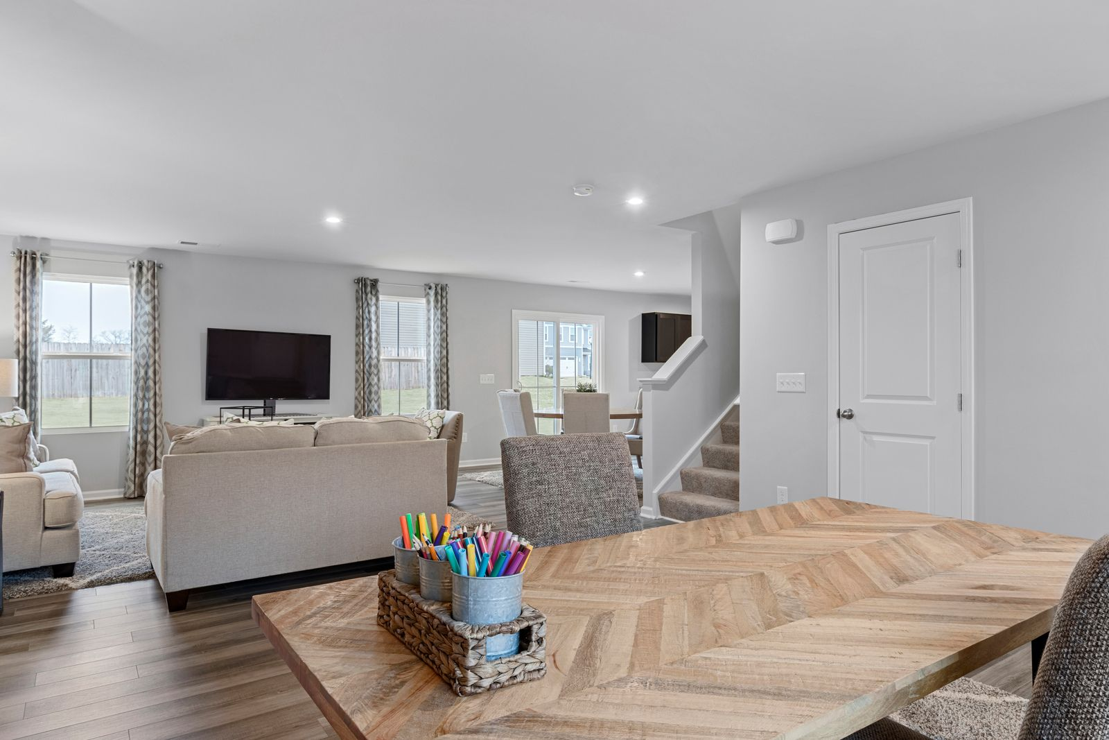 Living Area featured in the Elm By Ryan Homes in Buffalo-Niagara Falls, NY
