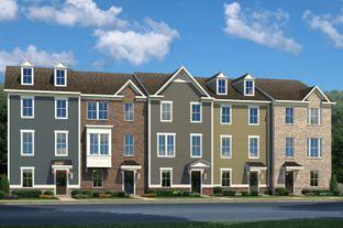 Strauss 2-Car Garage - Greenleigh Townhomes: Baltimore, Maryland - Ryan Homes