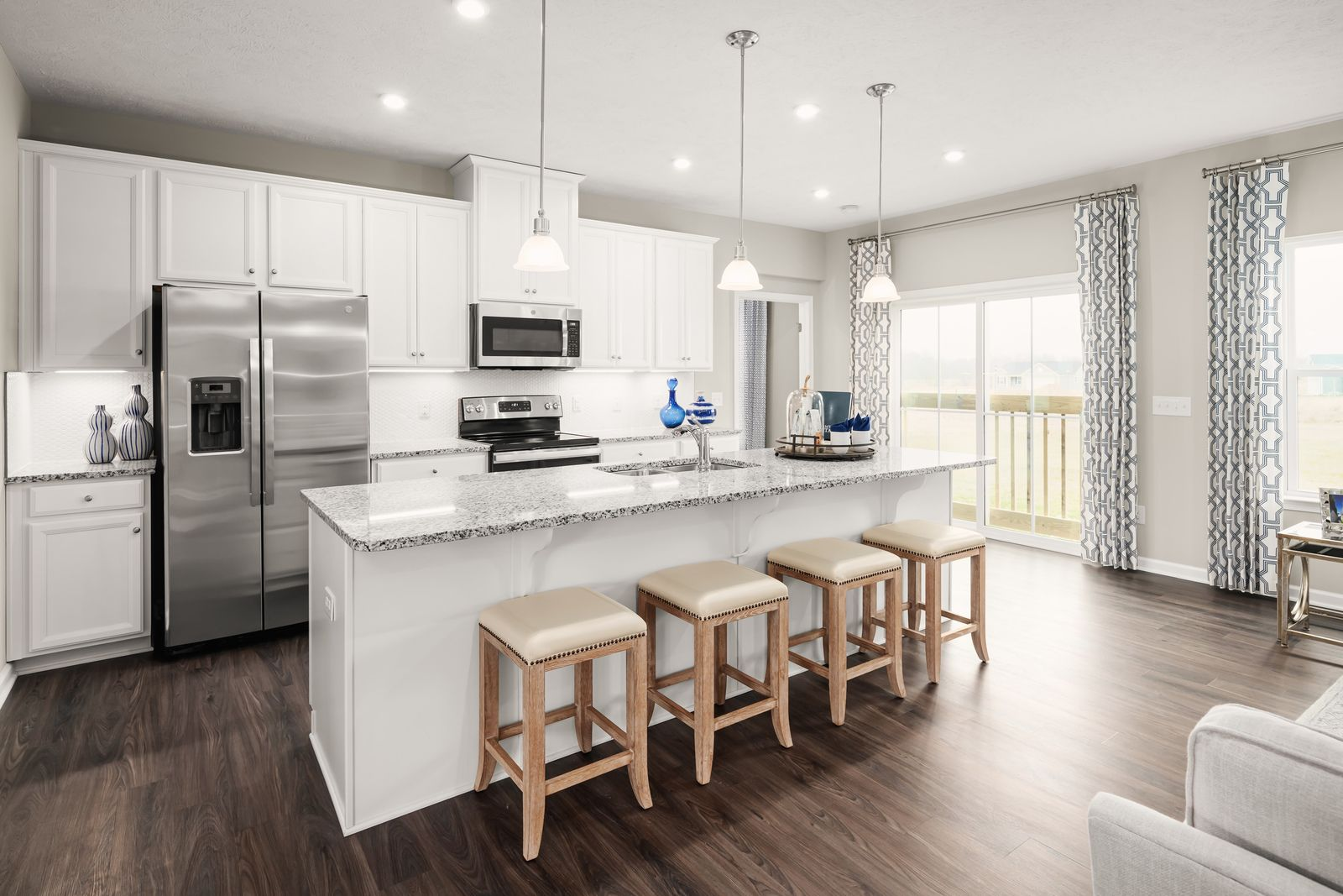Kitchen featured in the Aviano By Ryan Homes in Sussex, DE