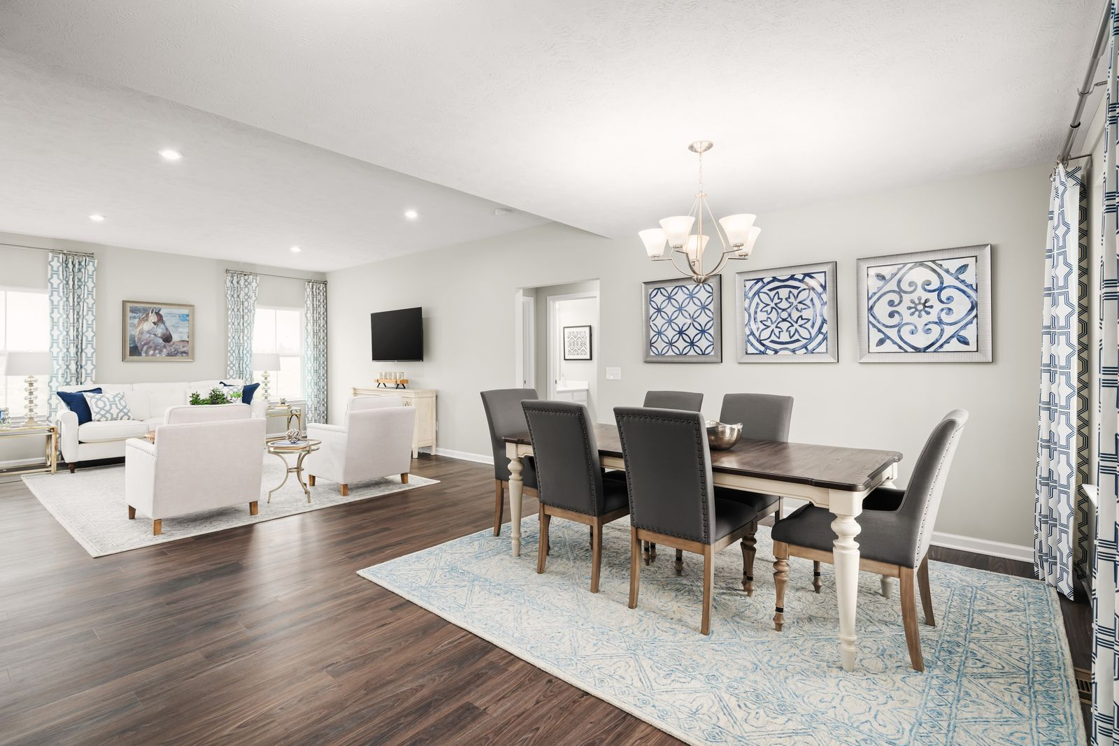 Living Area featured in the Aviano By Ryan Homes in Sussex, DE