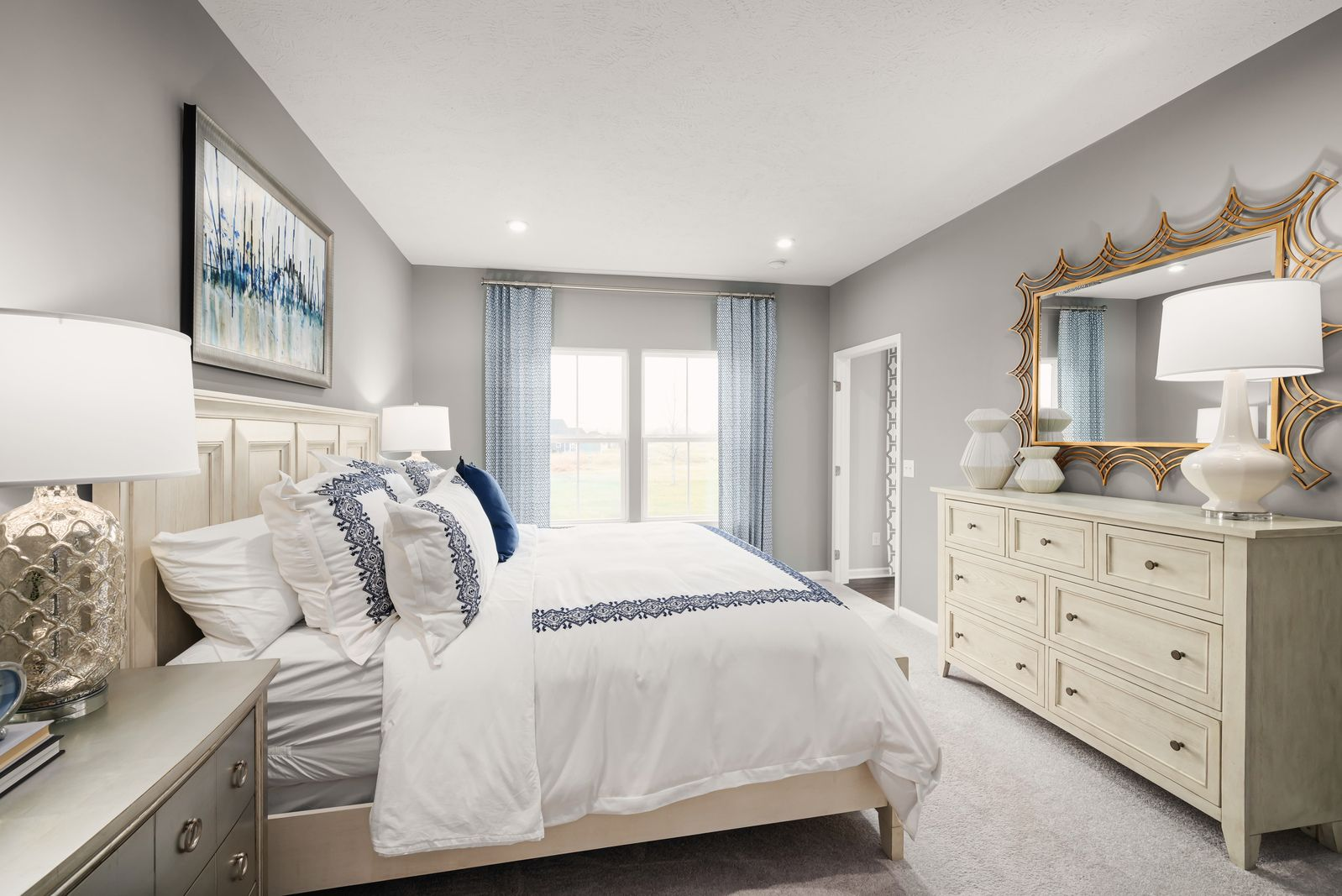 Bedroom featured in the Aviano By Ryan Homes in Pittsburgh, PA