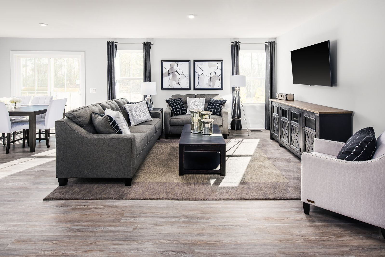 Living Area featured in the Grand Bahama By Ryan Homes in Sussex County, NJ