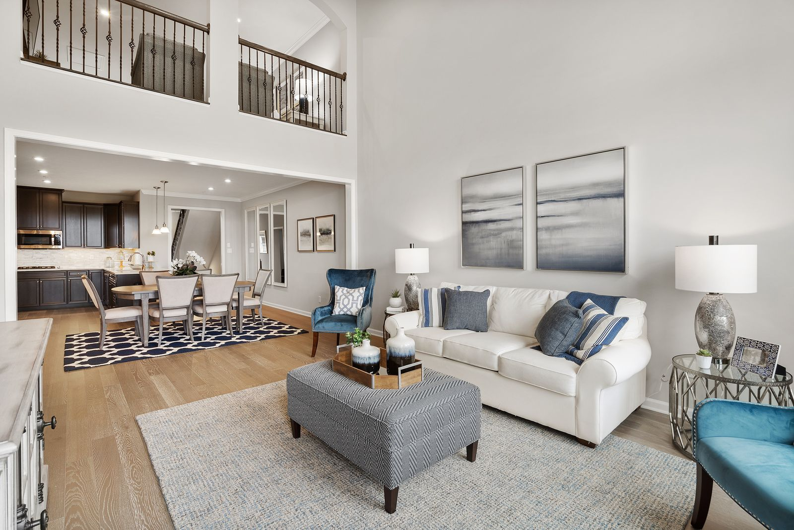 Living Area featured in the Griffin Hall By Ryan Homes in Charlotte, NC