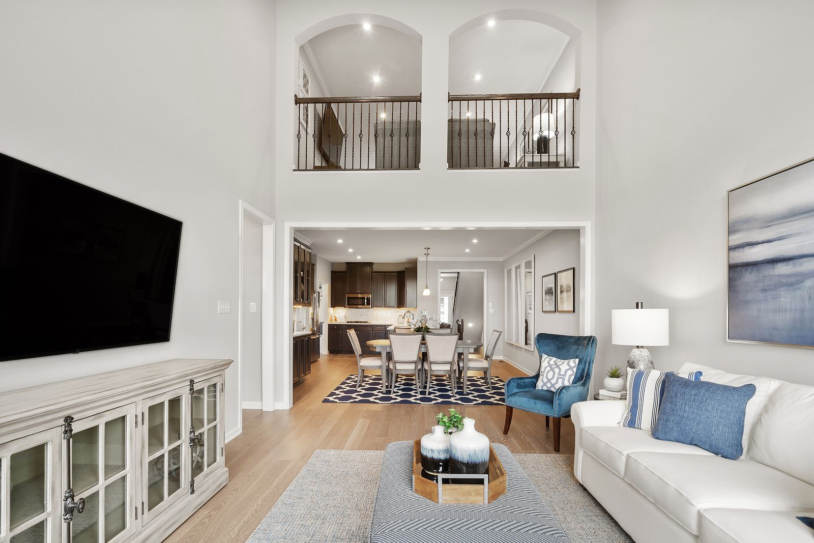 Living Area featured in the Griffin Hall Basement By Ryan Homes in Charlotte, NC