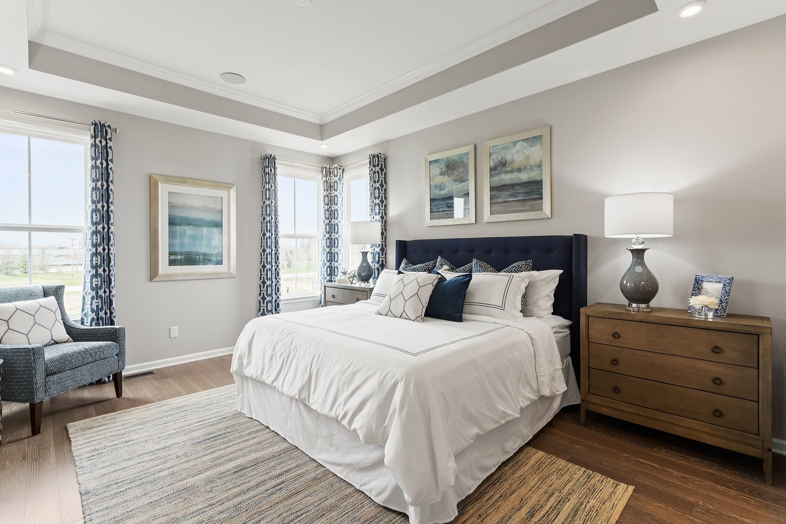 Bedroom featured in the Griffin Hall Basement By Ryan Homes in Charlotte, NC