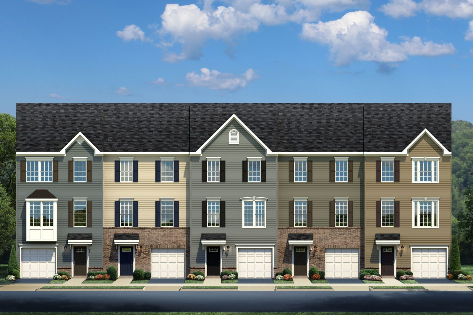 Exterior featured in the Strauss D By Ryan Homes in Cincinnati, OH