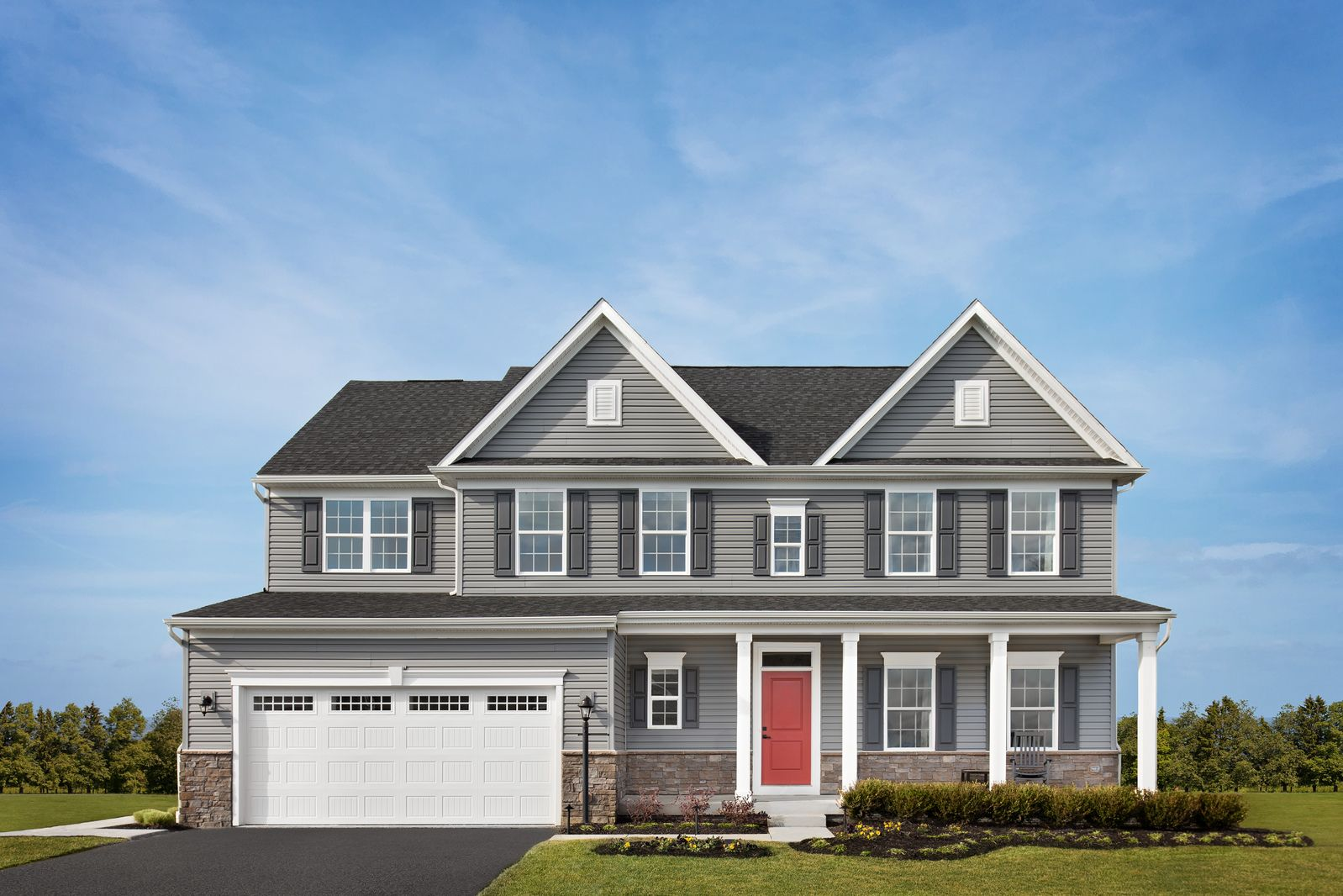 Exterior featured in the Saint Lawrence By Ryan Homes in Allentown-Bethlehem, PA
