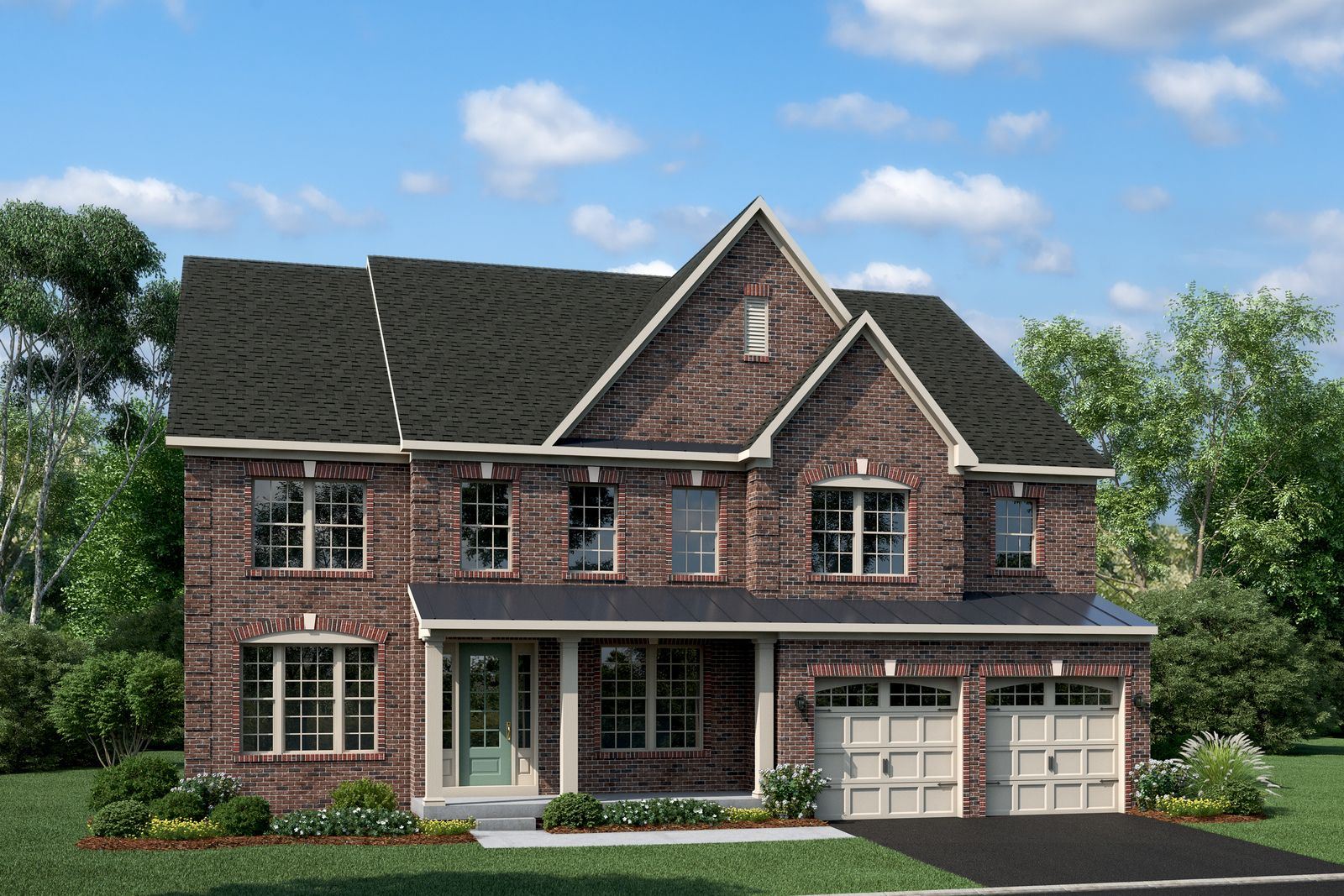 Exterior featured in the Stratford Hall By NVHomes in Baltimore, MD