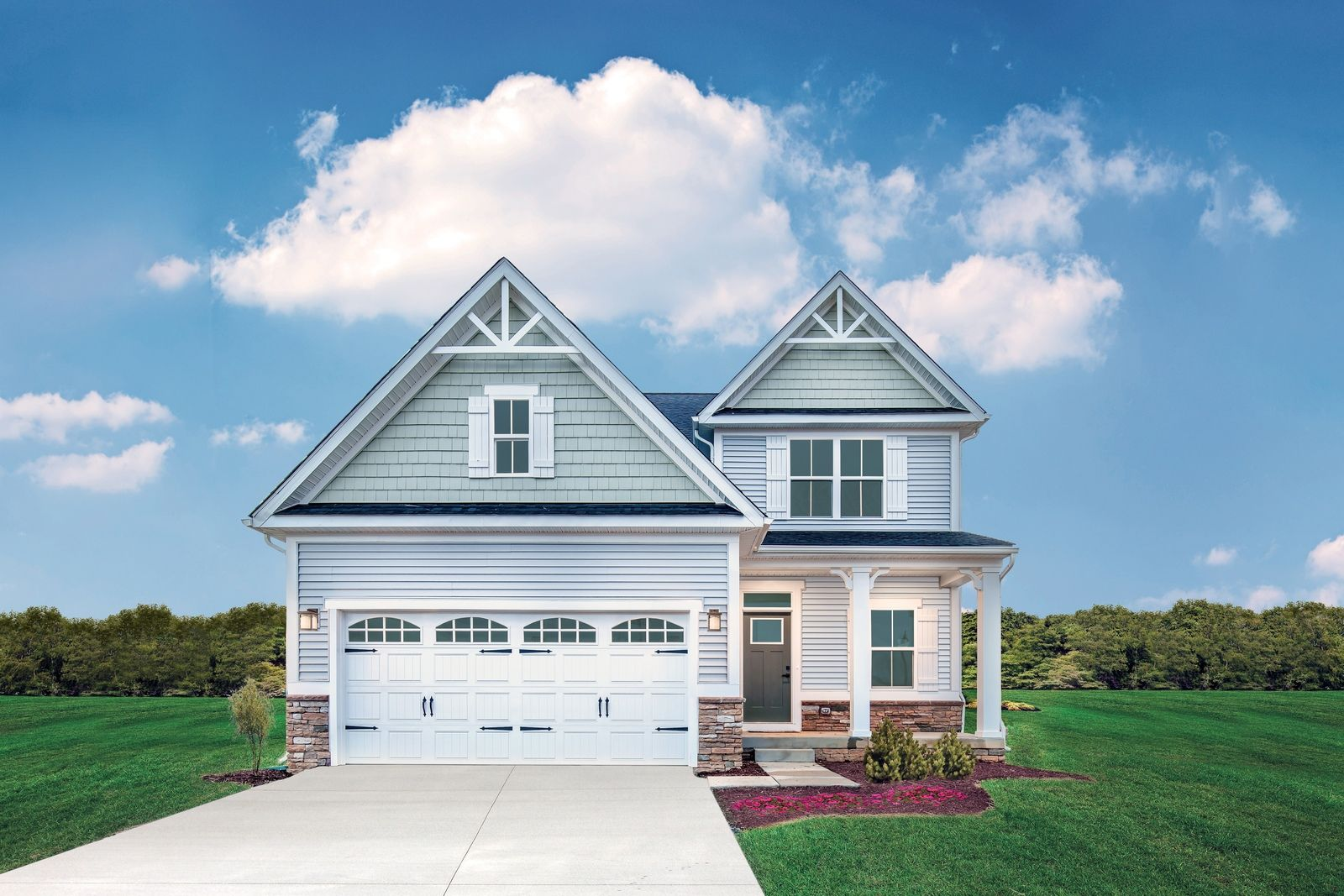 Exterior featured in the Ballenger w/ Basement By Ryan Homes in Charlottesville, VA