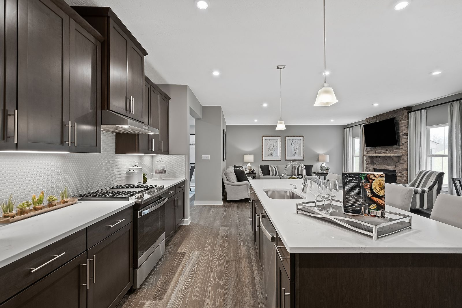 Kitchen featured in the Bear Run w/ Finished Lower Level By Ryan Homes in Dayton-Springfield, OH