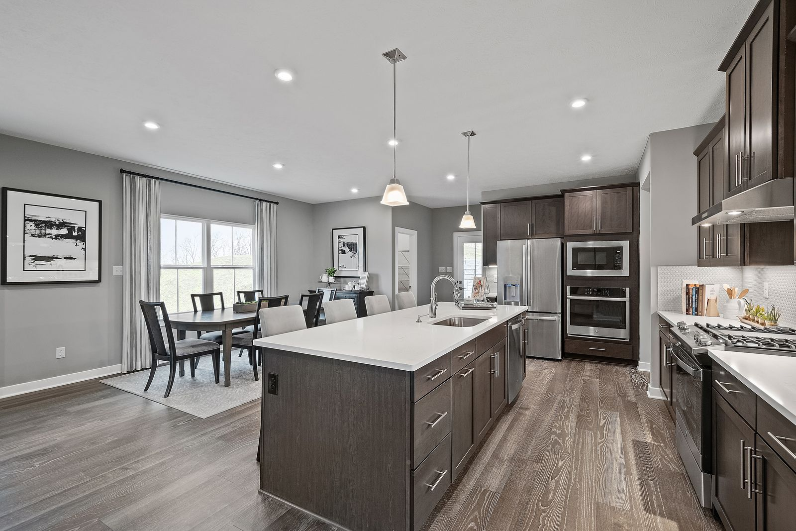 Kitchen featured in the Bear Run w/ Finished Basement By Ryan Homes in Dayton-Springfield, OH