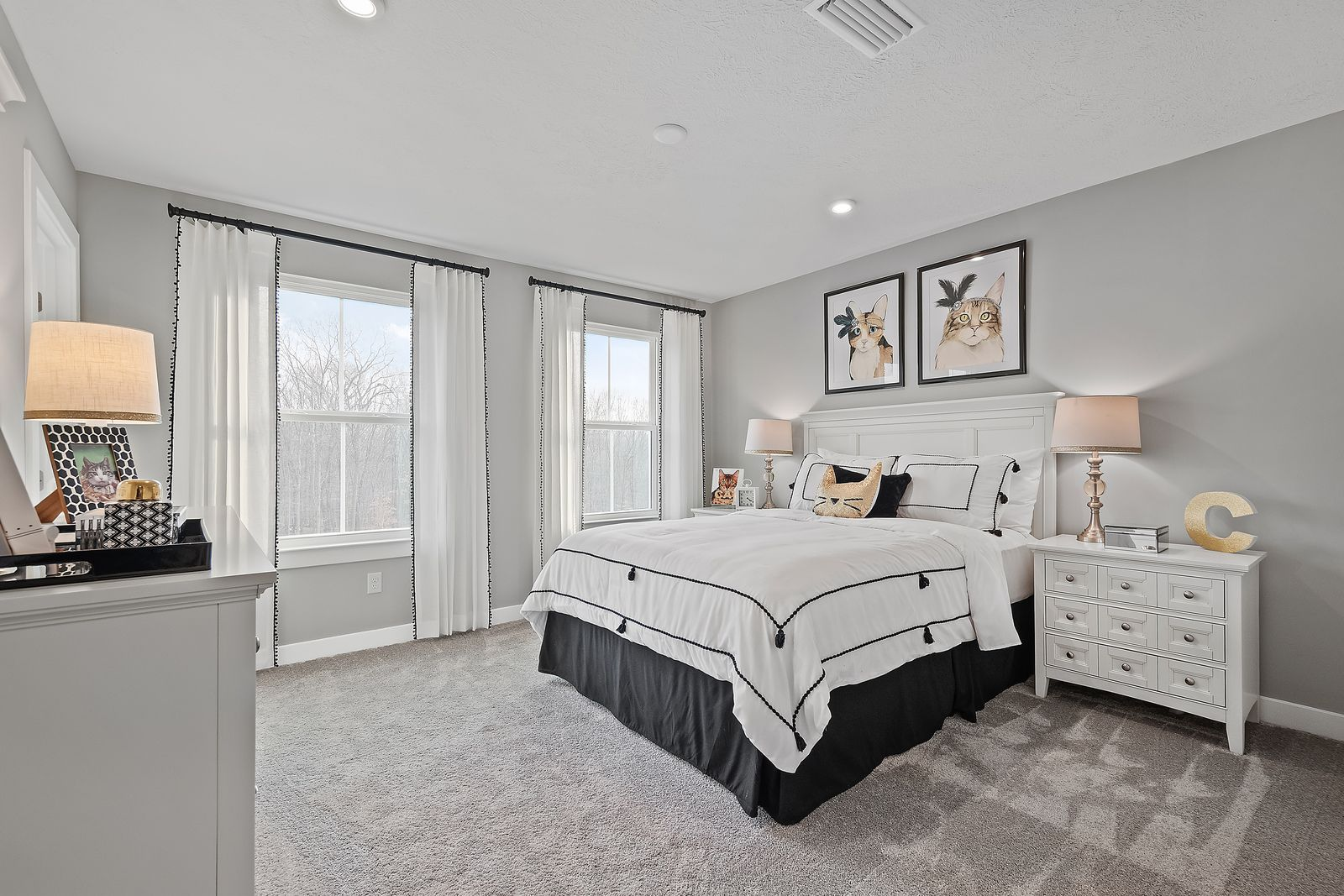 Bedroom featured in the Bear Run w/ Finished Basement By Ryan Homes in Dayton-Springfield, OH