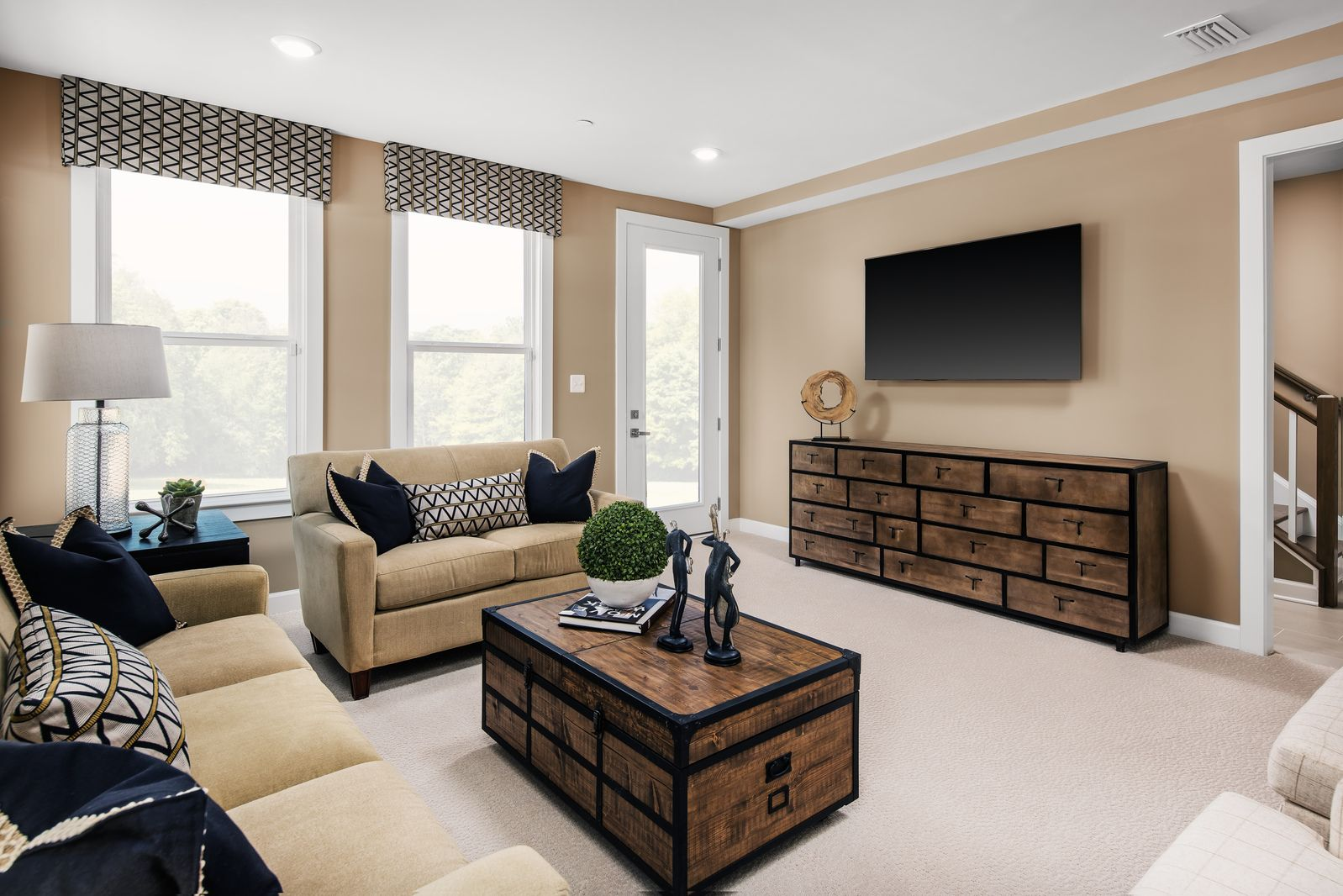 Living Area featured in the Woodley Park By NVHomes in Baltimore, MD